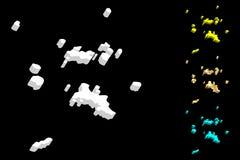 карта 3D Сейшельских островов