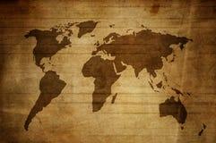карта grunge Стоковое Изображение