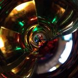 Карта HDRI, текстура стекла диско, окружающая среда стоковое изображение