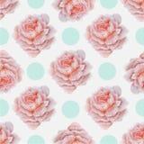Картина 2 ÑŒwedding '‡ Ð°Ñ ÐŸÐΜÑ флористическая безшовная Стоковое Изображение