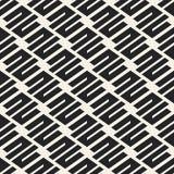 Картина абстрактного вектора концепции monochrome геометрическая Черно-белая минимальная предпосылка Творческий шаблон иллюстраци Стоковые Фотографии RF