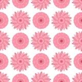 Картина абстрактного вектора флористическая безшовная Стоковая Фотография