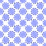 Картина абстрактного вектора флористическая безшовная Стоковое Изображение RF