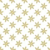 Картина абстрактного вектора флористическая безшовная Стоковые Изображения