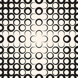 Картина абстрактного геометрического радиального полутонового изображения вектора безшовная Ультрамодный современный дизайн для о бесплатная иллюстрация