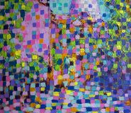 картина абстрактного искусства Стоковое фото RF