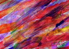 Картина абстрактного искусства Childs Стоковые Изображения
