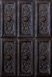 картина абстрактного коричневого цвета предпосылки керамическая кроет сбор винограда черепицей Стоковое Фото
