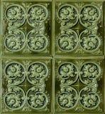 картина абстрактного коричневого цвета предпосылки керамическая кроет сбор винограда черепицей Стоковые Фотографии RF