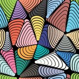 Картина абстрактного цвета безшовная иллюстрация вектора