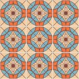 Картина абстрактного этнического происхождения вектора племенного безшовная Стоковые Изображения RF