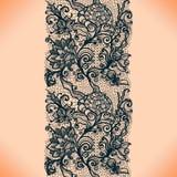 Картина абстрактной ленты шнурка вертикальная безшовная Стоковые Фото