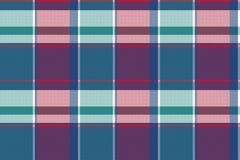 Картина абстрактной несимметричной шотландки проверки безшовная иллюстрация вектора