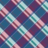 Картина абстрактной несимметричной шотландки проверки безшовная бесплатная иллюстрация