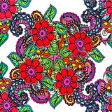 картина абстрактной предпосылки флористическая Стоковые Фотографии RF