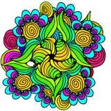 картина абстрактной предпосылки флористическая Стоковая Фотография