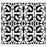 Картина абстрактной решетки monochrome безшовная Стоковое фото RF