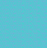 Картина абстрактной спирали контура безшовная Стоковое Изображение