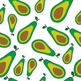 Картина авокадоа безшовная бесплатная иллюстрация