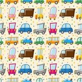картина автомобиля безшовная Стоковое Изображение RF