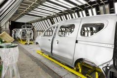 Картина автомобиля фабрики Стоковая Фотография RF