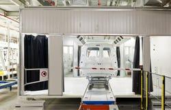 Картина автомобиля фабрики Стоковые Фотографии RF