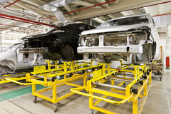 Картина автомобиля фабрики Стоковые Фото