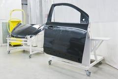 Картина автомобиля фабрики Стоковые Изображения RF