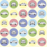 Картина автомобилей Стоковые Фотографии RF
