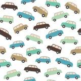 картина автомобиля безшовная Стоковая Фотография RF