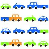 Картина автомобиля безшовная Стоковая Фотография