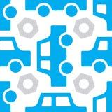 Картина автомобиля безшовная Стоковые Изображения RF