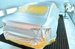 Картина автомобиля в прогрессе Стоковые Изображения RF