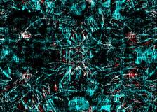 Картина акварели геометрическая Стоковая Фотография