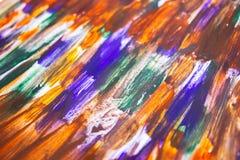 Картина акварели руки вычерченная E r E Краска пятна Краска щеток r бесплатная иллюстрация