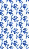 Картина акварели безшовная с Стоковые Фото