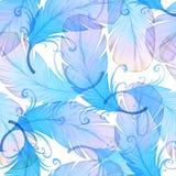 Картина акварели безшовная Стоковое Фото