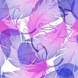 Картина акварели безшовная Стоковые Фото