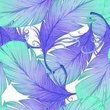 Картина акварели безшовная Стоковое фото RF