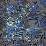 Картина акварели безшовная Backgrou акварели безшовное яркое Стоковые Изображения