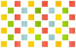 Картина акварели геометрическая Стоковое Фото