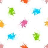 Картина акварели краски для пульверизатора безшовная Стоковые Фото