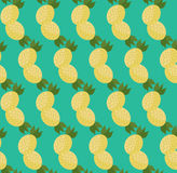 Картина ананасов шаржа Стоковые Фото