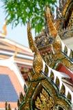 Картина ангела украсила на щипце стороны главную церковь a Стоковое Изображение