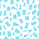 Картина английского алфавита безшовная Стоковая Фотография