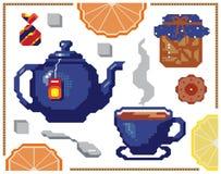 Картина апельсина и лимона вектора безшовная Дизайн предпосылки для сока, чая, пекарни Самое лучшее для ткани, ткани, упаковочной бесплатная иллюстрация