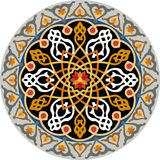 Картина арабескы безшовная Стоковые Изображения