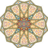 Картина арабескы безшовная Стоковое Фото