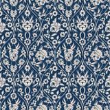 Картина арабескы безшовного вектора флористическая с винтажной печатью дизайн для крышек, ткань, упаковывая Стоковая Фотография