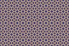 Картина арабескы исламская фиолетовая безшовная